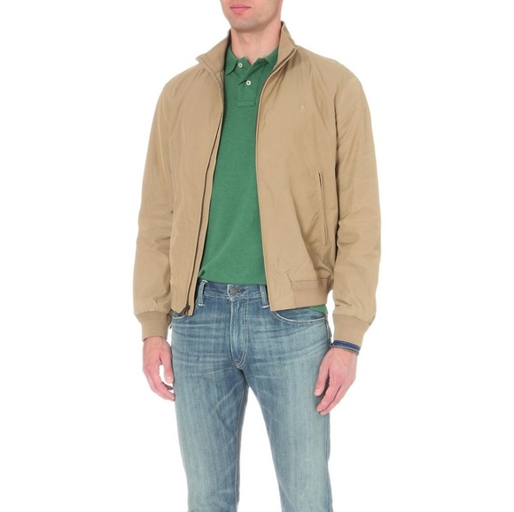 Barracuda Polo Boutique Natural Lauren Bomber Jacket Ralph Pwk0O8n